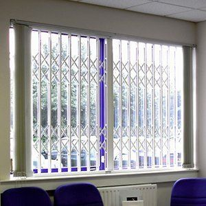 Sliding security grilles I Hull