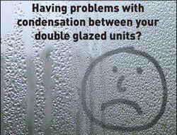 glass with a sad smiley