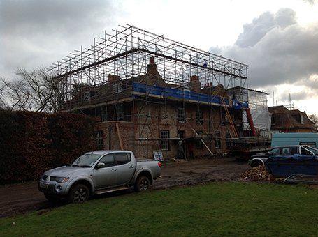 Scaffolding work in progress
