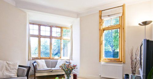 Timber window frames