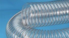un tubo trasparente