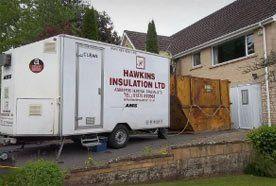 Hawkins Insulation Ltd van