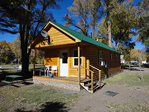 Cabin at Mogote Meadow Cabins & RV Park