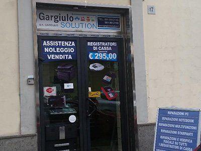 entrata del negozio Gargiulo Solution