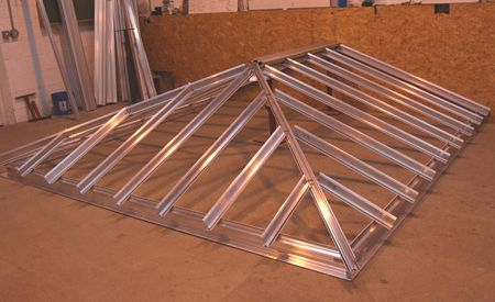 metal conservatory rooftop