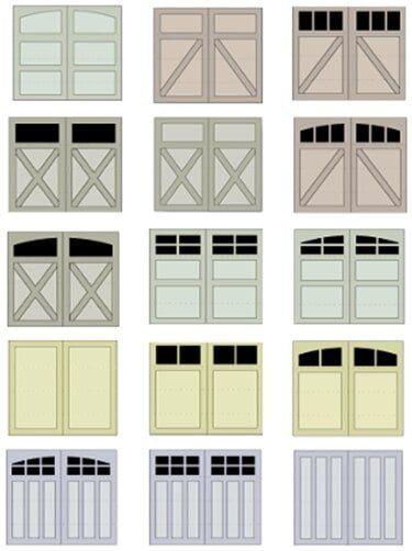 Door Styles Variety U2014 Garage Door Styles In Monterey County, CA
