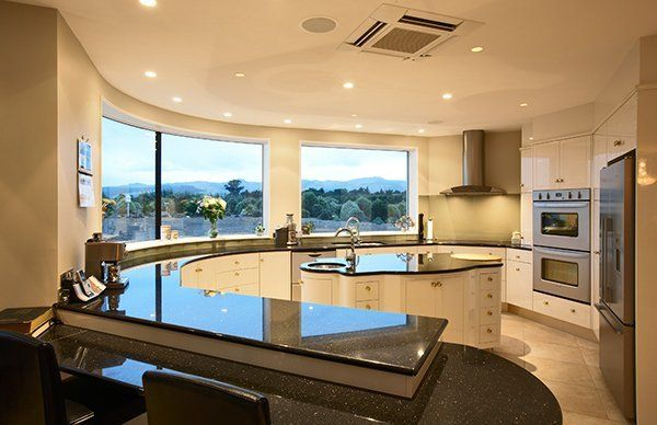 View of a fully renovated kitchen done by experts in Christchurch