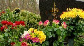 fiori e addobbi per cerimonia funebre
