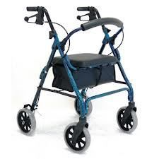Mobility aids, walking frame, trolley, independent living supplies Nowra, Ulladulla, Wollongong, shower stools, chairs, knee scooters, alternative to crutches, cheap, strong, lightweight chair, comfortable, sturdy. tri walker, three wheeled, side folding, 8