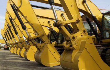 Machines used by our construction services team in Anchorage, AK