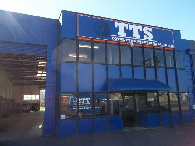 Outside our tyre service workshop in Rotorua