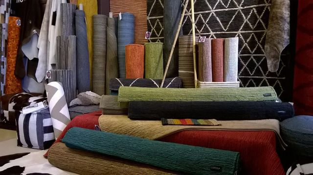 Wide range of quality rugs on display