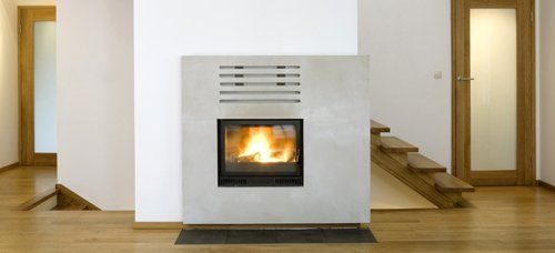 Central heating equipment in home