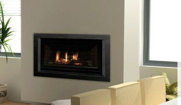 Sophisticated design of gas fireplace