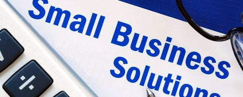 Small business solution icon
