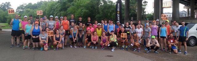 ERW Marathon kickoff Run 12-20-14
