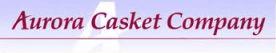 aurora casket logo