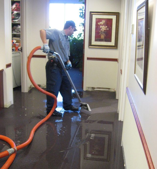 Carpet Water Damage Wilmington, NC