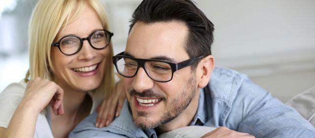 3b27545fafe4 Partner wearing Eyeglasses - Carrollwood Optical in Tampa, FL