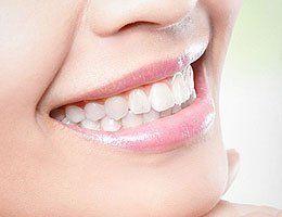 shining teeth
