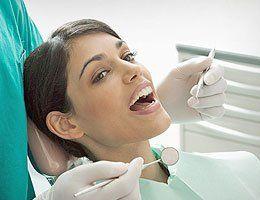 patient with dental problem