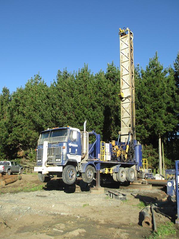Drilling in progress