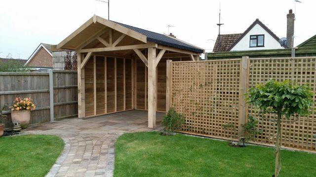 Bespoke timber buildings in norfolk for Garden office norfolk