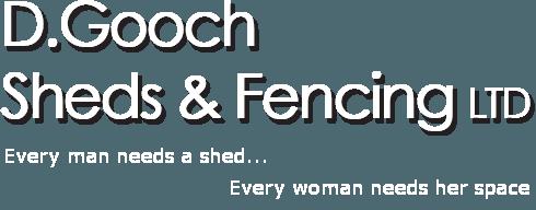D Gooch Sheds & Fencing logo