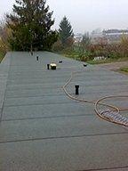impermeabilizzazione di tetti piani