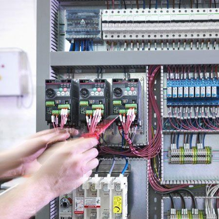 Kết quả hình ảnh cho Industrial electrical installation