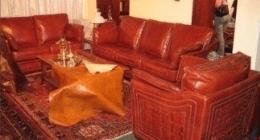divani, cuoio, poltrone,