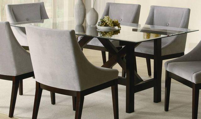 Charmant Custom Glass Table U0026 Shelving