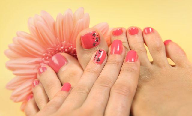 Stunning gelish nails