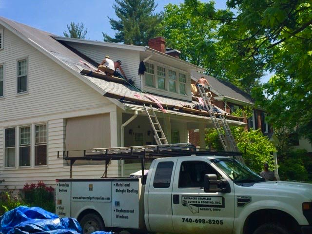 Roofing Shingles Nelsonville Oh Advanced Seamless