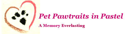 Pet Pawtraits in Pastel Logo