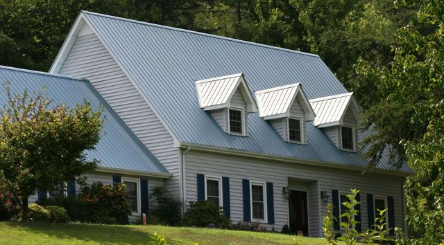 Metal roofing materials from East Kentucky Metal Sales in London, KY