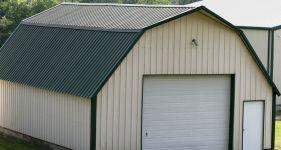 Pole barn materials