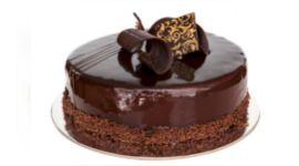 torta al cioccolato, torta con ganache al cioccolato, torta con pan di spagna