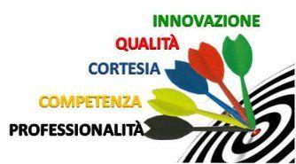 Innovazione, Qualita, Cortesia, Competenza e Professionlita-logo