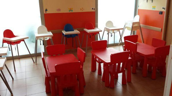 tavoli, sedie e seggiolini