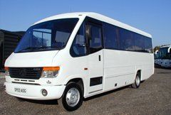 Minibus hire facilities