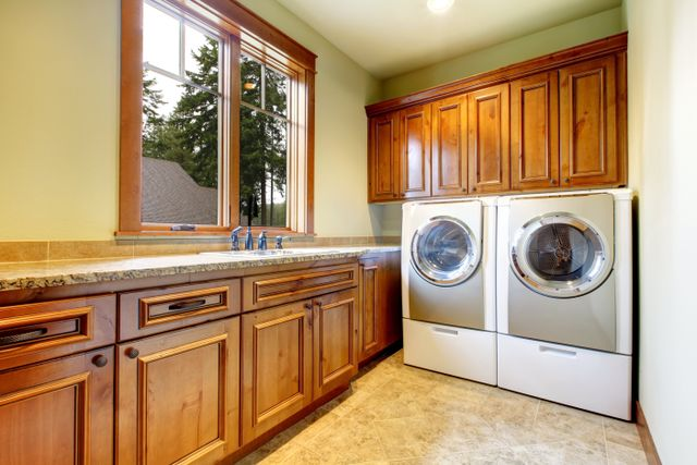 Washing machine after appliance repair in Tacoma, WA