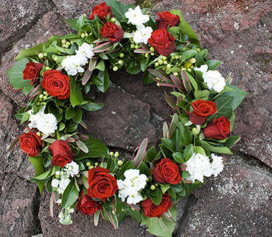 Corone fiori, addobbi floreali, addobbi funebri