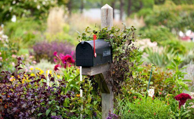 Custom built mailbox in Lexington, SC