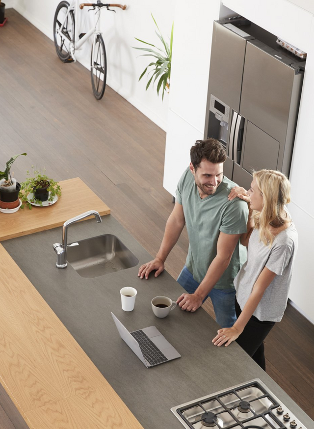 Appliance Repair Residential — Happy Couple in the Kitchen in San Antonio, TX