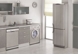 Refrigerator Repair — Simple Residential Kitchen in San Antonio, TX