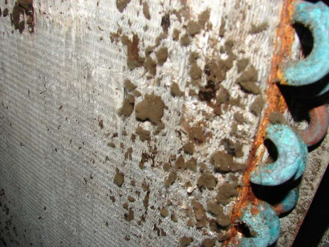 Mold build up in an air conditioning system