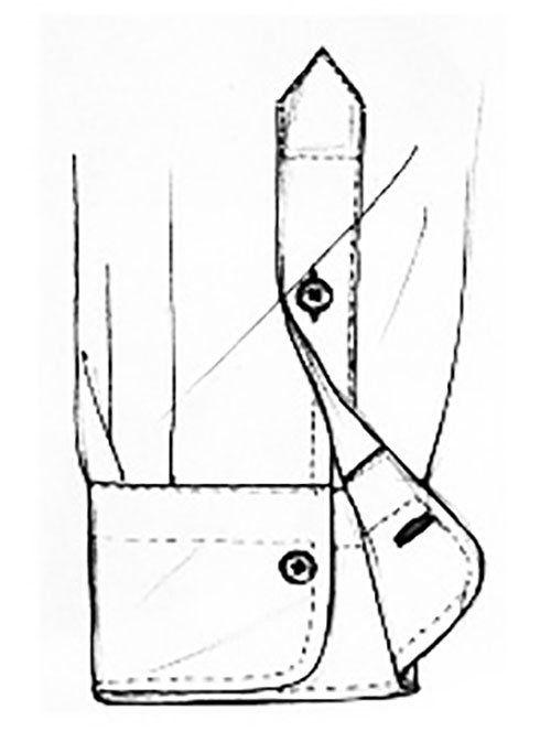 Progettazione dei polsini della camicia