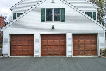 We recommend Wayne Daltonu0027s wood garage doors because they provide high quality construction and craftsmanship in a wide range of styles at an affordable ... & Wood Residential Garage Doors - Garage Door Store - NY