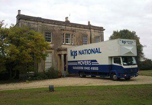 Removal service - Gloucester, Gloucestershire - KJS Removals & Storage - Van